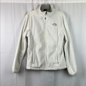 White North Face Osito Jacket